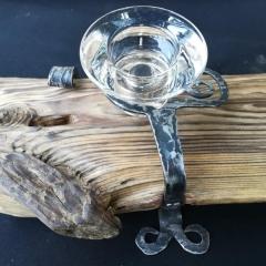 Malé svícny ze starého dřeva