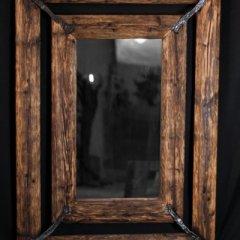 Zrcadlo dvojitý rám